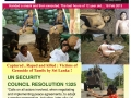 page1 women and child in arms conflict in Sri Lanka fin
