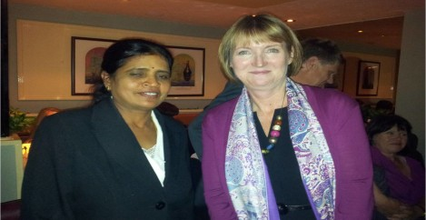 2012-10-24 Meeting with Shadow DPM Rt.Hon. Harrit Harman MP, Senator Robert Evens & GLA Member Mr. Navin Shaw